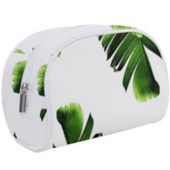 Green Banana Leaves Makeup Case (large) by goljakoff