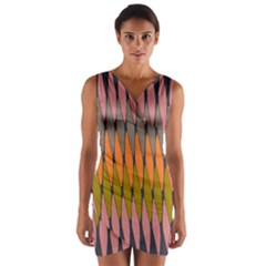 Zappwaits - Your Wrap Front Bodycon Dress