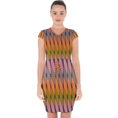 Zappwaits - Your Capsleeve Drawstring Dress