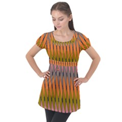 Zappwaits - Your Puff Sleeve Tunic Top