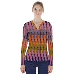 Zappwaits - Your V-Neck Long Sleeve Top