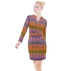 Zappwaits - Your Button Long Sleeve Dress