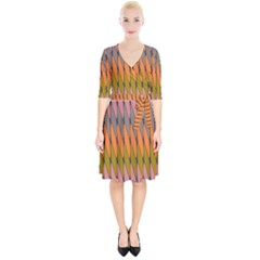 Zappwaits - Your Wrap Up Cocktail Dress