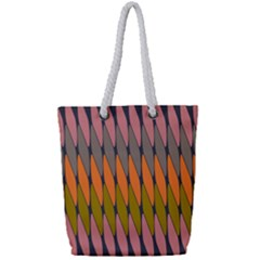 Zappwaits - Your Full Print Rope Handle Tote (Small)