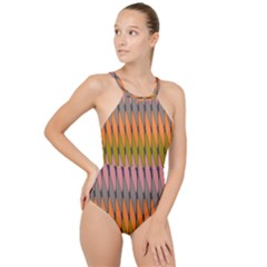 Zappwaits - Your High Neck One Piece Swimsuit