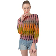 Zappwaits - Your Banded Bottom Chiffon Top