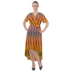 Zappwaits - Your Front Wrap High Low Dress