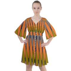 Zappwaits - Your Boho Button Up Dress