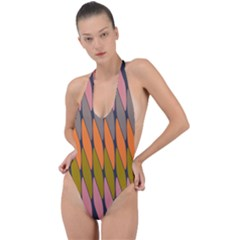 Zappwaits - Your Backless Halter One Piece Swimsuit