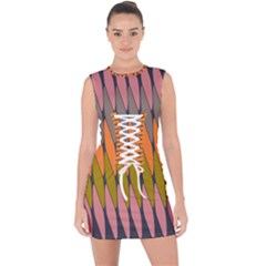 Zappwaits - Your Lace Up Front Bodycon Dress