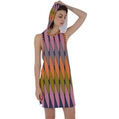 Zappwaits - Your Racer Back Hoodie Dress