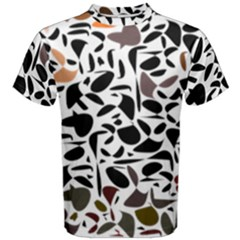 Zappwaits - Words Men s Cotton Tee by zappwaits