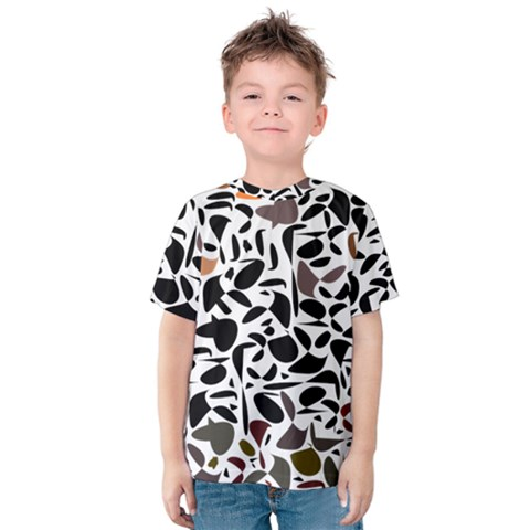Zappwaits - Words Kids  Cotton Tee by zappwaits