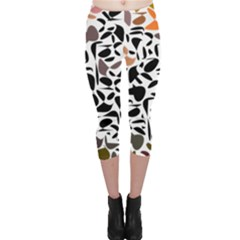 Zappwaits - Words Capri Leggings  by zappwaits