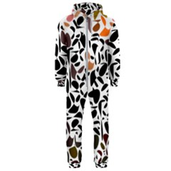 Zappwaits - Words Hooded Jumpsuit (men)  by zappwaits