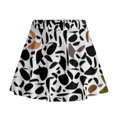 Zappwaits - Words Mini Flare Skirt by zappwaits