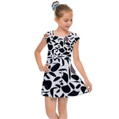 Zappwaits - Words Kids  Cap Sleeve Dress by zappwaits