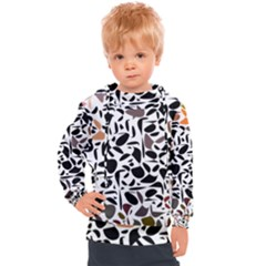 Zappwaits - Words Kids  Hooded Pullover by zappwaits