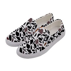 Zappwaits - Words Women s Canvas Slip Ons by zappwaits