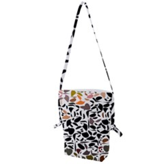 Zappwaits - Words Folding Shoulder Bag by zappwaits