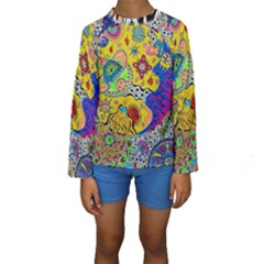 Supersonicplanet2020 Kids  Long Sleeve Swimwear