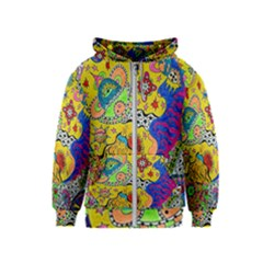Supersonicplanet2020 Kids  Zipper Hoodie by chellerayartisans