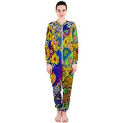 Supersonicplanet2020 Onepiece Jumpsuit (ladies)  by chellerayartisans