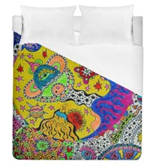 Supersonicplanet2020 Duvet Cover (queen Size)