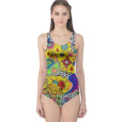 Supersonicplanet2020 One Piece Swimsuit by chellerayartisans