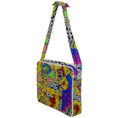 Supersonicplanet2020 Cross Body Office Bag by chellerayartisans