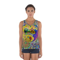 Supersonicplanet2020 Sport Tank Top  by chellerayartisans