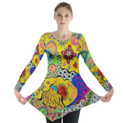 Supersonicplanet2020 Long Sleeve Tunic