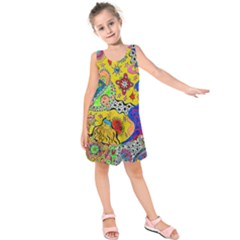 Supersonicplanet2020 Kids  Sleeveless Dress