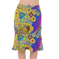 Supersonicplanet2020 Short Mermaid Skirt