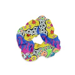 Supersonicplanet2020 Velvet Scrunchie
