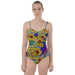 Supersonicplanet2020 Sweetheart Tankini Set by chellerayartisans