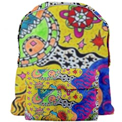 Supersonicplanet2020 Giant Full Print Backpack by chellerayartisans