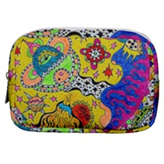 Supersonicplanet2020 Make Up Pouch (small) by chellerayartisans