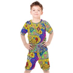 Supersonicplanet2020 Kids  Tee And Shorts Set