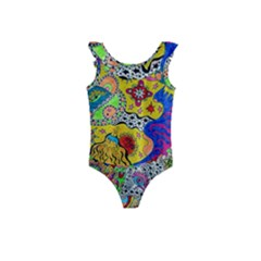 Supersonicplanet2020 Kids  Frill Swimsuit by chellerayartisans