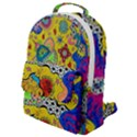 Supersonicplanet2020 Flap Pocket Backpack (Small) View1