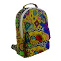 Supersonicplanet2020 Flap Pocket Backpack (Small) View2