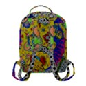 Supersonicplanet2020 Flap Pocket Backpack (Small) View3
