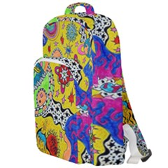 Supersonicplanet2020 Double Compartment Backpack