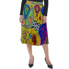 Supersonicplanet2020 Classic Velour Midi Skirt