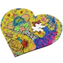 Supersonicplanet2020 Wooden Puzzle Heart View2