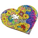 Supersonicplanet2020 Wooden Puzzle Heart View3