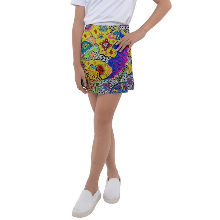 Supersonicplanet2020 Kids  Tennis Skirt