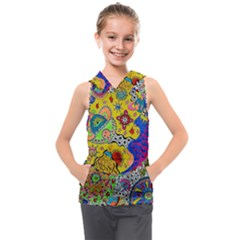 Supersonicplanet2020 Kids  Sleeveless Hoodie
