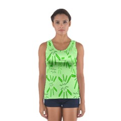 Electric Lime Sport Tank Top